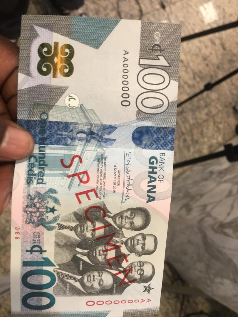 Bank Of Ghana Introduces Fresh GH¢100, GH¢200 Notes and GH¢2 Coin In The Country's Currency
