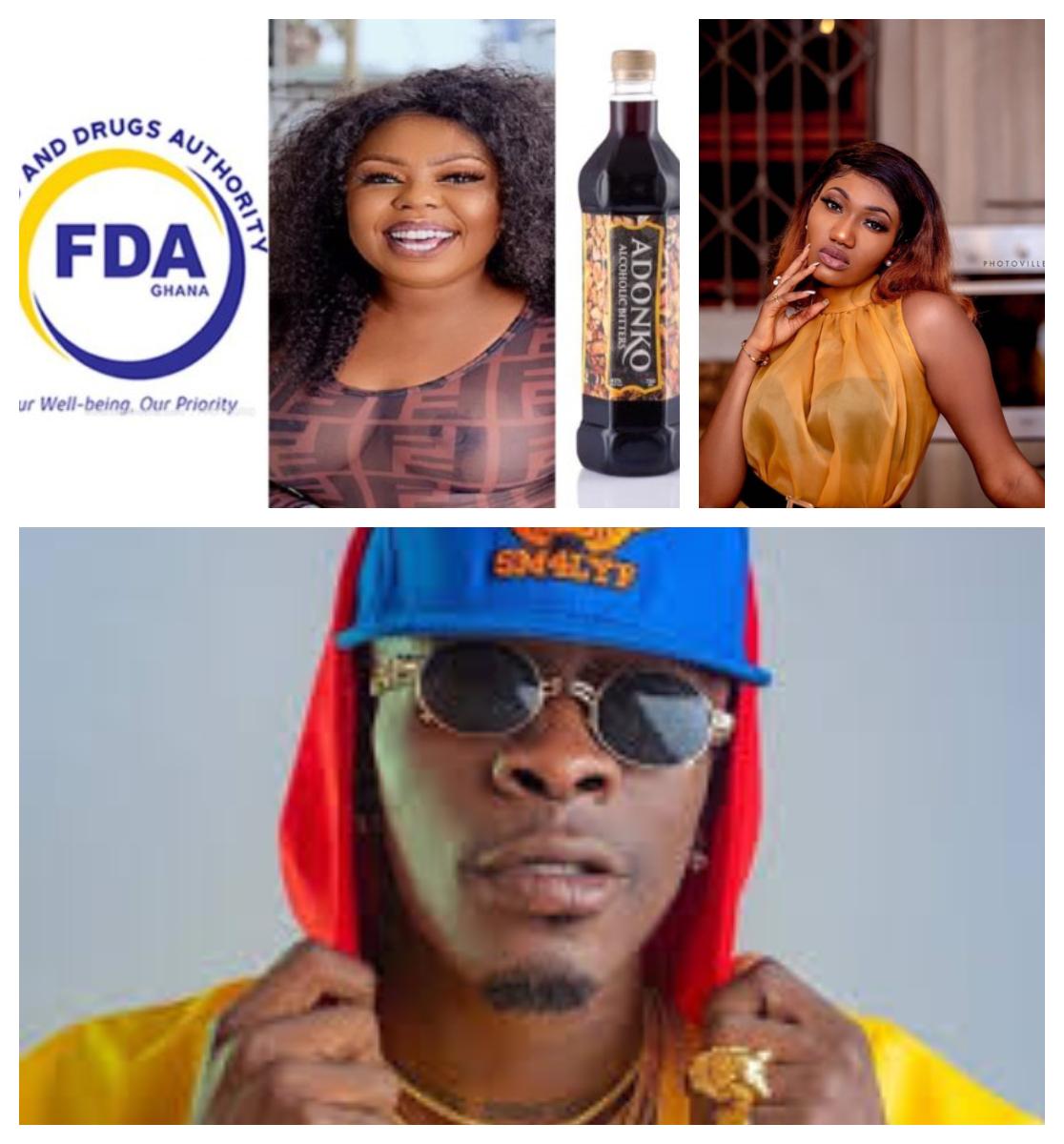 Celebrities Go Wild On FDA After Adonko Bitters Sing Nigerian Celebrities As Ambassadors.