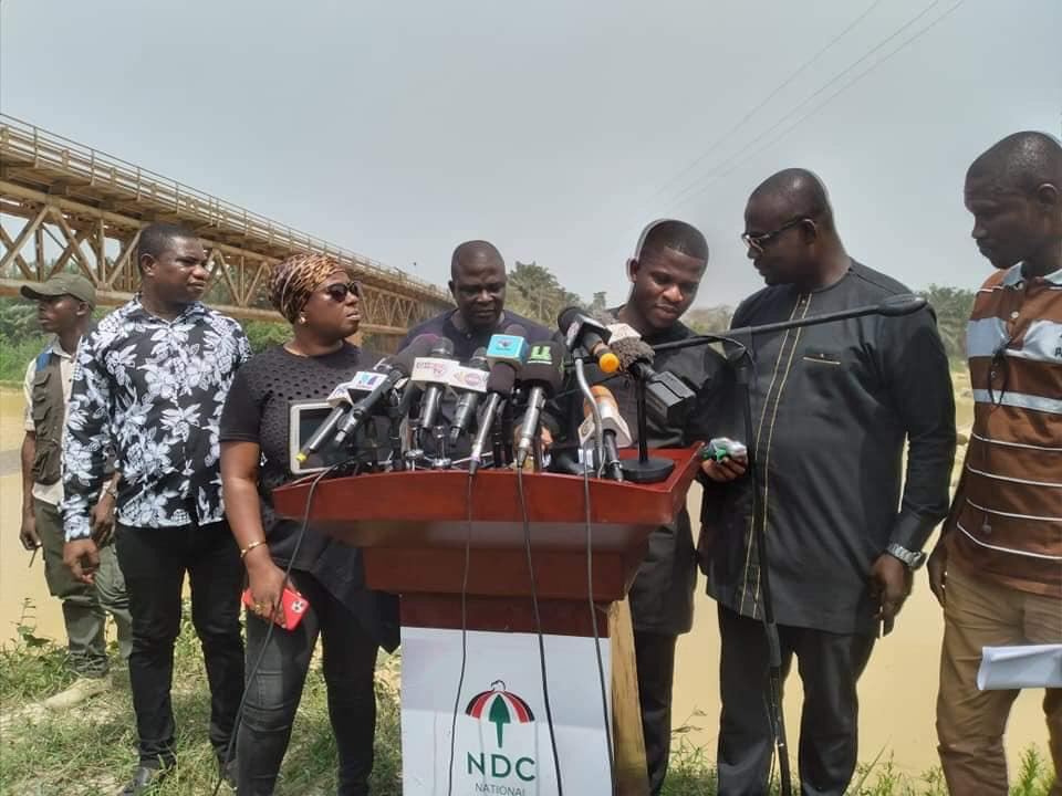 NDC Calls For The Removal Of President Akuffo Addo As Co-Chairman of UN SDGs Advocates Over Fraudulent Fight Against Galamsey