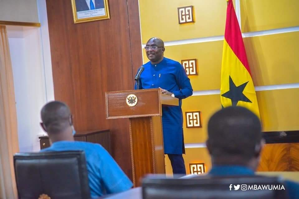 Veep Dr. Mahamudu Bawumia Launched Online Scholarship Application and Administration System Today