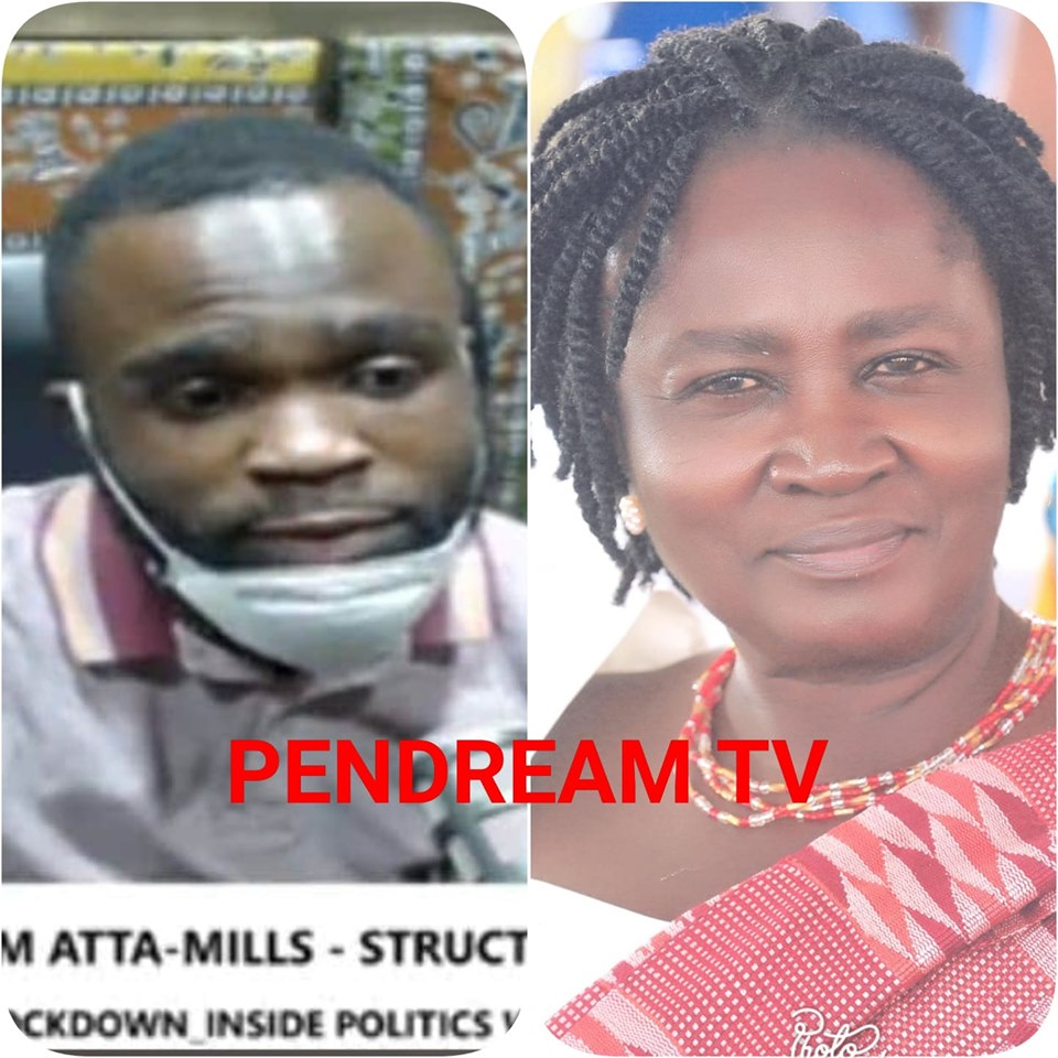 Prof Mills' Son Kofi Sam Confesses, Prof Naana Jane Used To Change My Pampers