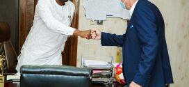 Black Stars coach Rajevac meets Sports Minister
