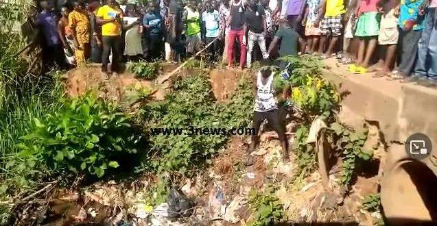 Dead Body Found In A Sewer In Manya Krobo